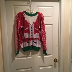 Men's Ugly Christmas Sweater.  Size M